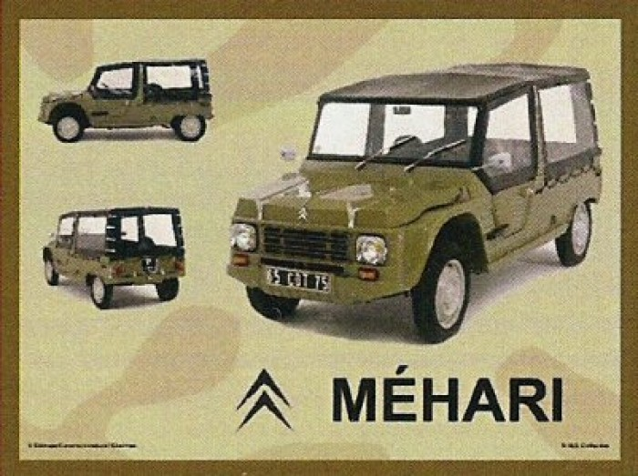 tole pub citroen mehari collage antan et n o brive la gaillarde. Black Bedroom Furniture Sets. Home Design Ideas