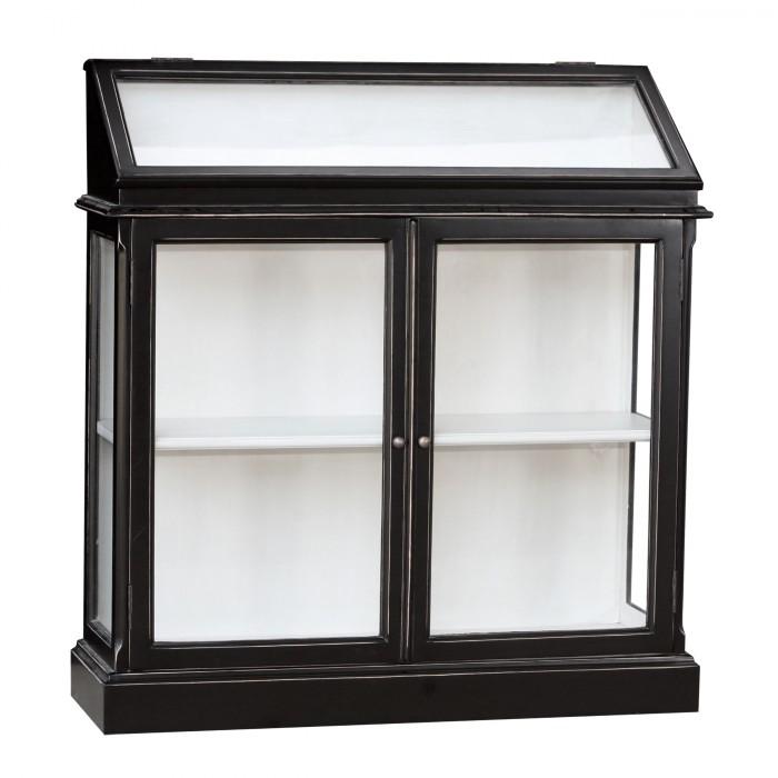 Vitrine cabinet de curiosit robinson display cabinet - Meuble cabinet de curiosite ...