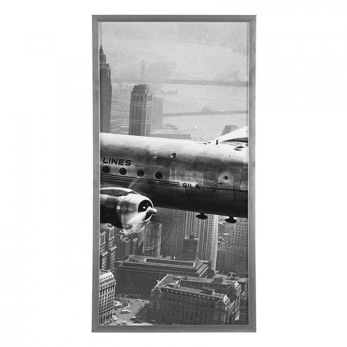 tableau sous verre m tal et bois avion caravelle dc3 super constellation en triptyque boutique. Black Bedroom Furniture Sets. Home Design Ideas
