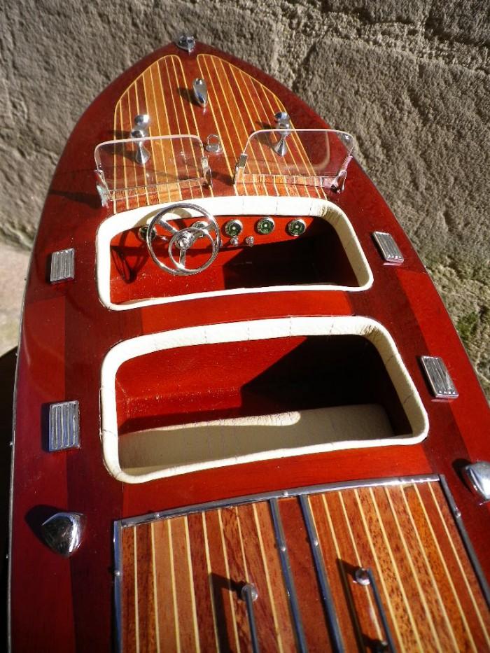 maquette bateau ann e 30 style riva racer bateau de course boutique antan et n o brive la. Black Bedroom Furniture Sets. Home Design Ideas