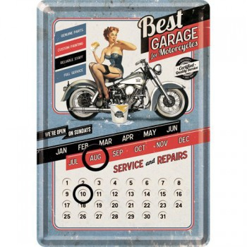 Calendrier Perpetuel  BEST GARAGE For Motocycles