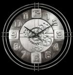 Horloge Murale metal  a engrenage