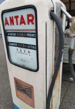 Pompe à Essence Boutillon ANTAR double face Année 50 / 60