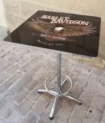 0000 - Table Carrée Mange Debout Harley Davidson