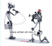 Figurine METAL HINZ & KUNST cameraman et reporter Journaliste TELEVISION CINEMA