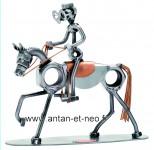 Figurine METAL HINZ & KUNST Cheval équitation cavalier - SPORT