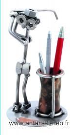 Figurine METAL HINZ & KUNST golfeur de bureau - SPORT