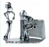 Figurine METAL HINZ & KUNST hockey sur glace duo - SPORT - gardien de But