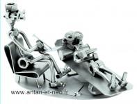 Figurine METAL HINZ & KUNST psychiatre MEDECIN