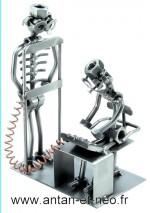 Figurine METAL HINZ & KUNST radiologue MEDECIN