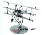 Figurine METAL HINZ & KUNST triplan aviation AVION AERONAUTIQUE