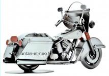 Figurine METAL HINZ & KUNST véhicule moto style Harley Davidson modèle 1