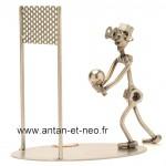 Figurine METAL HINZ & KUNST volley ball solo - SPORT