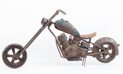 00000 - Moto Chopper décoration USA Grand modèle TA34