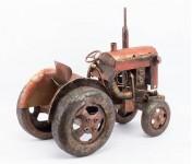 00000 - Tracteur métal décoration Grand format TA17