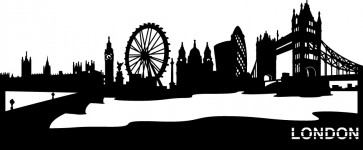 SKYLINE LONDON LONDRES PM
