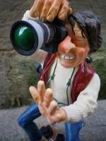 Figurine de Guillermo FORCHINO LE PHOTOGRAPHE GM
