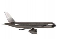 00000 - Décoration murale demi Avion Aluminium - Aviation - Aéro WD017