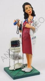 Figurine FORCHINO MADAME LE DOCTEUR - MEDECIN Grand modèle