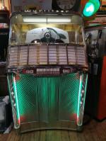00000 - Antiquité  jukebox Wurlitzer Modele 1900 de 1956