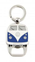 Decapsuleur Porte Clefs Combi Volkswagen bleu