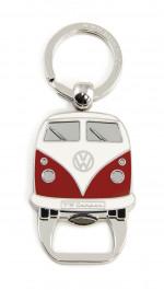 000 - Decapsuleur Porte Clefs Combi Volkswagen rouge