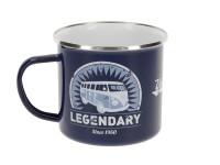 Mug Emaillé Combi Volkswagen bleu