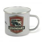 000 - Mug Emaillé Combi Volkswagen legende