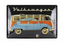 Tole publicitaire Combi Volkswagen