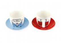 Set de 2 tasses à café Combi Volkswagen  - BUTA51