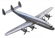 Avion Maquette Super Constellation Métal  AP458 - AM - Aviation - Aéro