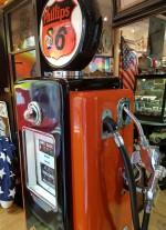 0000 - Pompe à Essence WAYNE Phillips double face Année 50 restaurée  USA