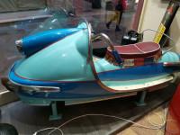 0000 - Antiquité de manège Forain Scooter des années 50