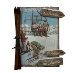 Tableau Enseigne Relief Ski Les Marmottes - Country Corner EJHC