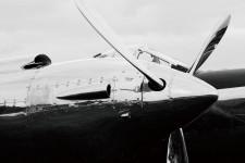 000000 - Tableau aviation fixe sous verre - aeronautique - avion