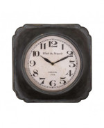 0000 - Pendule Horloge Atelier LOFT Industriel BISTROT MANOIR