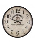 0000 - Horloge Pendule VIN MEURSAULT - Bistrot - BAR - GRAND VIN BOURGOGNE