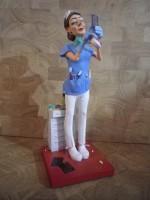 Figurine Guillermo FORCHINO LA DENTISTE - Orthodentiste
