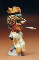 "Figurine de Dali ""Portrait de PICASSO"""