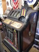 Antiquité Ancienne MACHINE A SOUS USA Modéle Comet 1936 Chicago