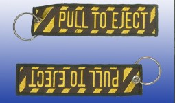 Porte Clef Pull to EJECT  - AVIATION - Avion - Aeronautique