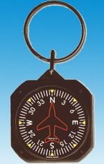 Porte-clef style instrument DIRECTION GYRO  AVIATION TCK62   - AVIATION - Avion - Aeronautique