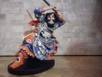 Figurine Guerrier Japonais Gyokukirin Roshungi