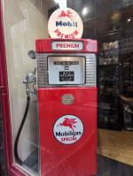0000000 - Pompe à Essence WAYNE MOBIL double face Année 50 restaurée  USA