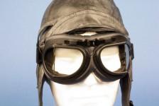 Avion Lunettes décoration aviateur Flyers Goggle Noire ST15610B - Aviation - Aéro