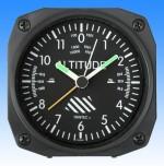 Réveil Alarm clock  Altimètre  - Aviation - Aéro - Avion