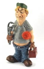 1 A - Figurine  PLOMBIER
