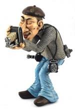 Figurine  LE PHOTOGRAPHE DE PRESSE