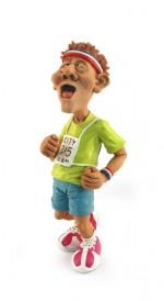 Figurine  Coureur à Pied marathonien Running