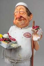 AA - Figurine de Guillermo FORCHINO boulanger/patissier  GM